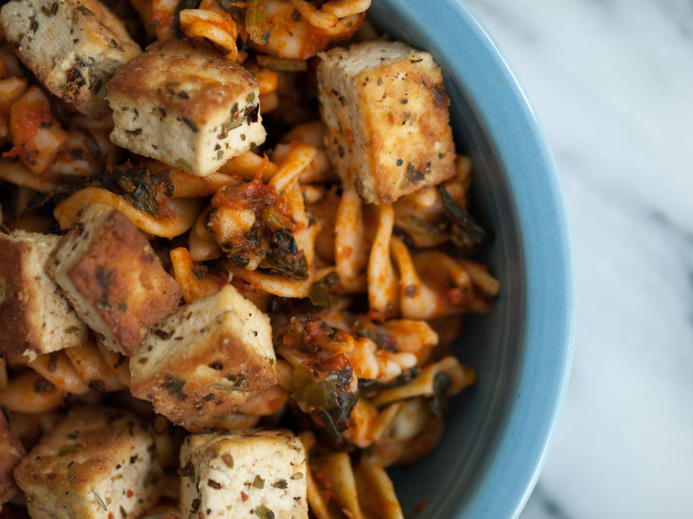 Italian Herb Spiced Tofu